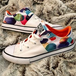 Converse All Star Madison Ox Watercolor White